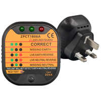 Тестер розетки розетка Автоматическая электрическая цепь детекторный провод Finder инструмент США/ЕС/Великобритания Plug -- M25
