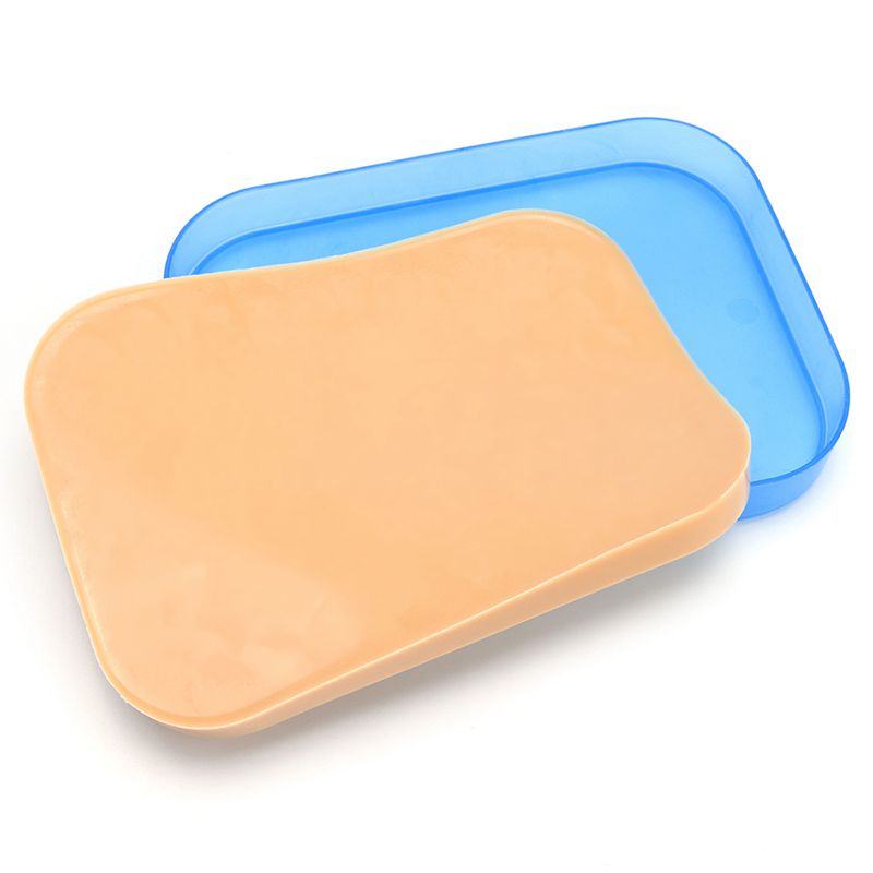 NEW-Medical Surgical Incision Silicone Suture Training Pad Practice Human Skin Model