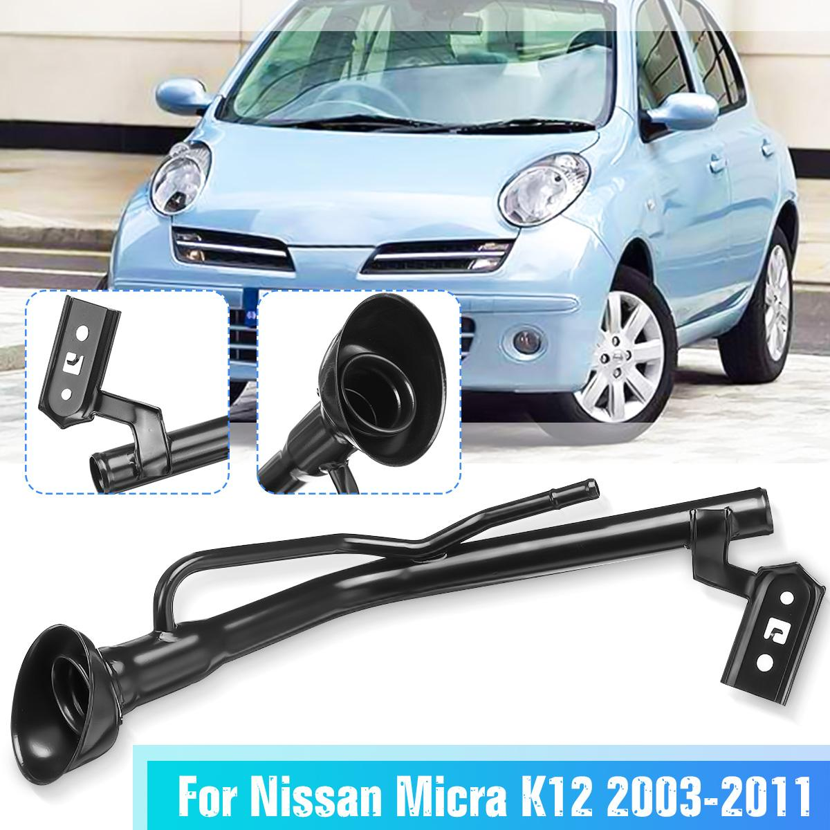Car Fuel Tank Neck Pipe Intake Passage Petrol Fuel Tank Filler 17221-BC400 17221-BC40A for Nissan Micra K12 2003-2011