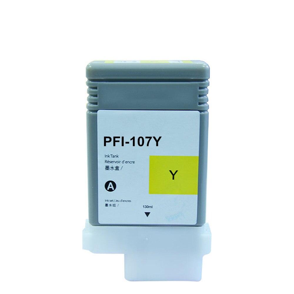 Image 5 - PFI 107 Совместимый картридж для Canon IPF670 IPF680 IPF685  IPF770 IPF780 IPF785 IPF 670 IPF 770 IPF 670 770 PFI107 PFI  107Чернильные картриджи