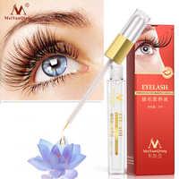 Traitements de croissance des cils à base de plantes rehausseur de sérum liquide cils des yeux plus épais mieux que l'extension de cils maquillage puissant