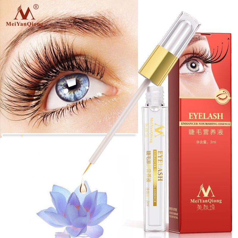 Tratamentos de crescimento de cílios de ervas soro líquido enhancer lash olho mais grosso melhor do que a extensão de cílios maquiagem poderosa