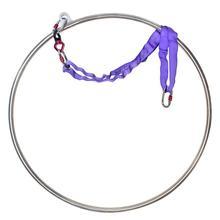Кольца для фитнеса PRIOR, воздушное обруч для фитнеса, 31 дюйм (80 см), ширина 25 мм, для занятий йогой, оборудование для фитнеса в помещении