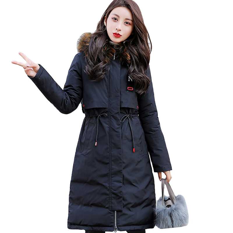 New Design Korean Style 2020 Winter Jacket Women Stand Collar Solid Female Down Coat Loose Oversized Womens Short Parka Coat S54