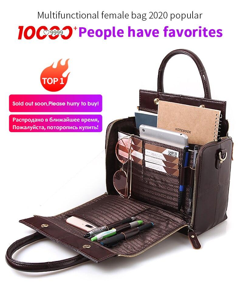 Cobbler Legend Top Handle Bags Genuine Leather Handbag Summer Fashion Shoulder For Women 2020 Vintage Designer Brand Crossbody