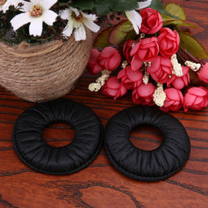 Cushion Headphones ZX300 Earpads Replacement Soft-Foam 70mm Sony for Mdr-zx100/Zx300/V150/..