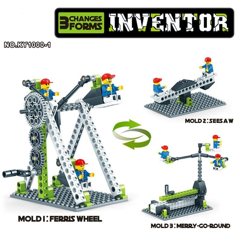 Engineering Science Gear Blocks 6