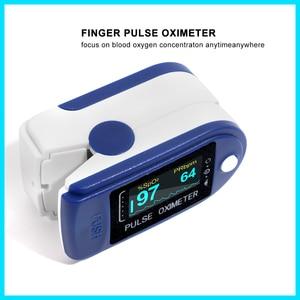 Image 3 - RZ الإصبع نبض مقياس التأكسج أوكسيمترو الدم الأكسجين التشبع متر إصبع SPO2 PR رصد نبض مقياس التأكسج