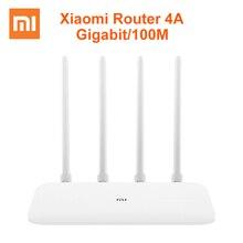 Xiaomi Router 4A Gigabit Edition 100M 1000M 2,4 GHz 5GHz Wi-Fi rom 16MB DDR3 64MB 128MB с высоким коэффициентом усиления 4 антенны дистанционное управление приложением