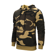 New men's Fashion Military style hoodies sweatshirt camouflage sports jogger loose casual large size tide brand
