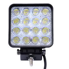 "4 ""48 W 4800Lm LED Mobil Lampu Kerja Combo 4WD 4X4 Offroad Lampu Lampu Tahan Air Truk Traktor trailer Perahu Spot Flood Light Bar(China)"