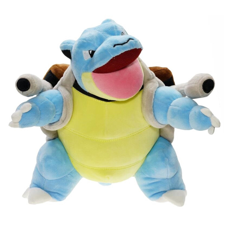 30cm Blastoise Plush Toys Cartoon Baby Dolls Tortoise Animal Pluche Cute Japan Anime Soft Stuffed For Children Birthday Gifts