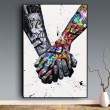 Cuadro de arte de grafite com diamantes, pintura de diamante artesanal 5d, punto de cruz, bordado de diamantes cuadrados/redond