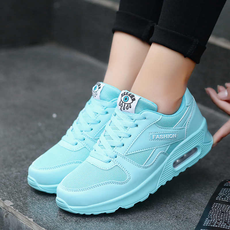 2019 New Women Shoes Spring Ladies Platforms Flats Shoes Breathable Air Mesh Sneakers Female Women Casual Shoes Zapatos De Mujer