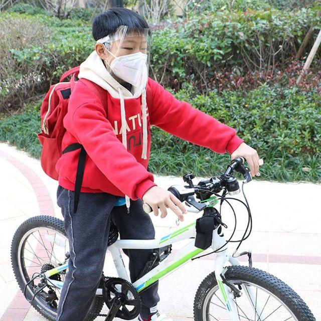 Transparent Anti-saliva Dust-proof Protect Full Face Covering Mask Visor Shield 5