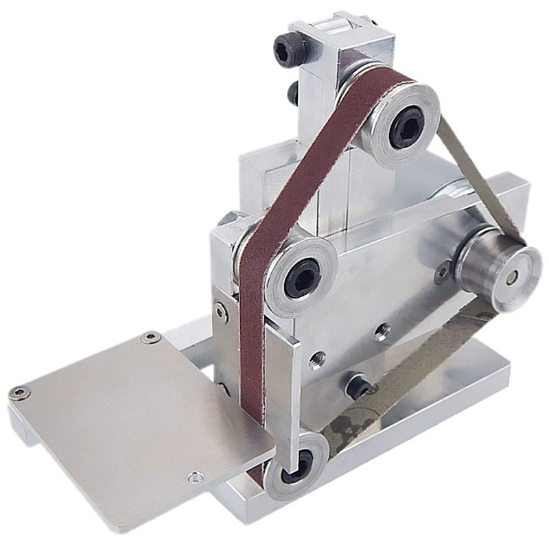 EU Plug Small Belt Machine DIY Polishing Machine Grinding Machine Fixed Angle Grinding Machine Table
