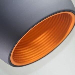 Image 5 - Semplice Pendente della sfera luci 20cm 25cm in Bianco e Nero E27 lampade a Sospensione Ristorante Apparecchio di Illuminazione