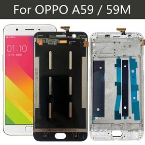 Image 1 - شاشة لمس LCD مقاس 5.5 بوصة لـ OPPO F1S A59 A1601 ، مع محول رقمي ، ومجموعة عدسات زجاجية