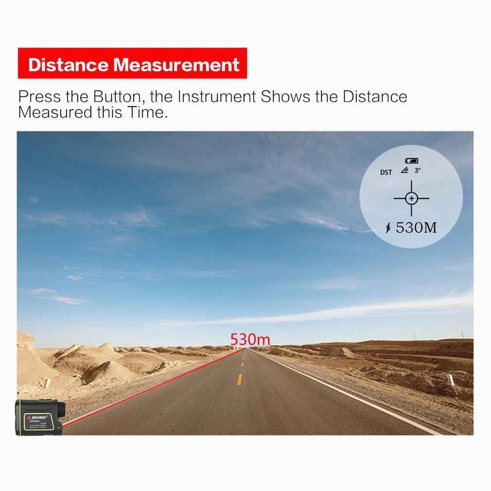 SNDWAY SW-600A Monokulare Teleskop Laser-entfernungsmesser 600m Trena Laser Abstand Meter Golf Jagd laser Range Finder