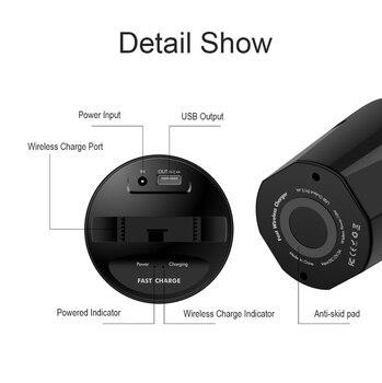 X8 автомобильное QI Быстрое беспроводное зарядное устройство чашка для IPhone 11 Pro Max Samsung Huawei USB беспроводное автомобильное зарядное устройство ...