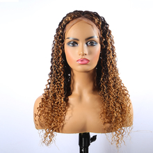 Brazilian Deep Curly 13x4 Lace Front Wigs Human Hair Bob 150% Density Glueless Lace Front Wigs Pre Plucked With Baby Hair for vi