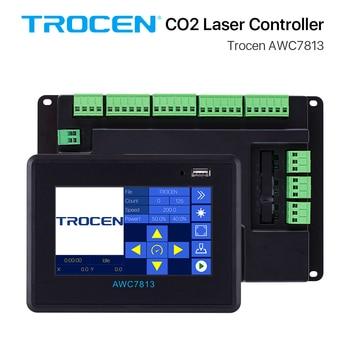 Trocen AWC7813 CO2 Laser Controller System DSP for Co2 Laser Engraver Cutting Machine Replace Ruida Leetro RDC6442  RDC6445 greenhouse co2 controller smart farming co2 controller hydroponics copnograph co2 sensor