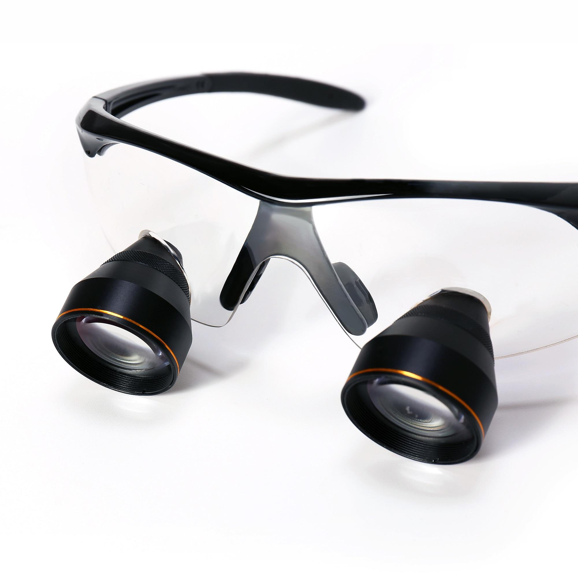 Большой FOV 2.5X бинокулярный глаз Стекло стоматологическая лупа хирургии медицинское увеличительное стекло стоматолога лупа 30 50 см большое р... - 3