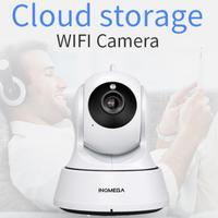 INQMEGA 1080P chmura kamera ochrony wideo w pomieszczeniach kamera monitorująca noktowizor dom Wifi technologia AI w Kamery nadzoru od Bezpieczeństwo i ochrona na