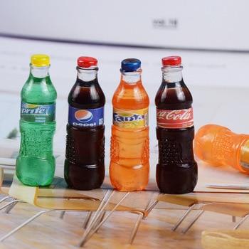 Новый 4 шт./компл. мини-Кокс напитки кукольный домик миниатюрная еда для Blyth BJD куклы-Барби напиток Кукольный дом Детская кухня игрушка