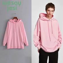 Hoodie Women Harajuku casual chic pullover solid color hooded jacket jogger tops autumn oversize hoodies for women chic solid color crown arrow hairpin for women