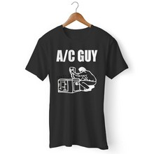 Ac Air Conditioner Heating Cool Hvac Trade Contractor Mans Womans T-Shirt(China)
