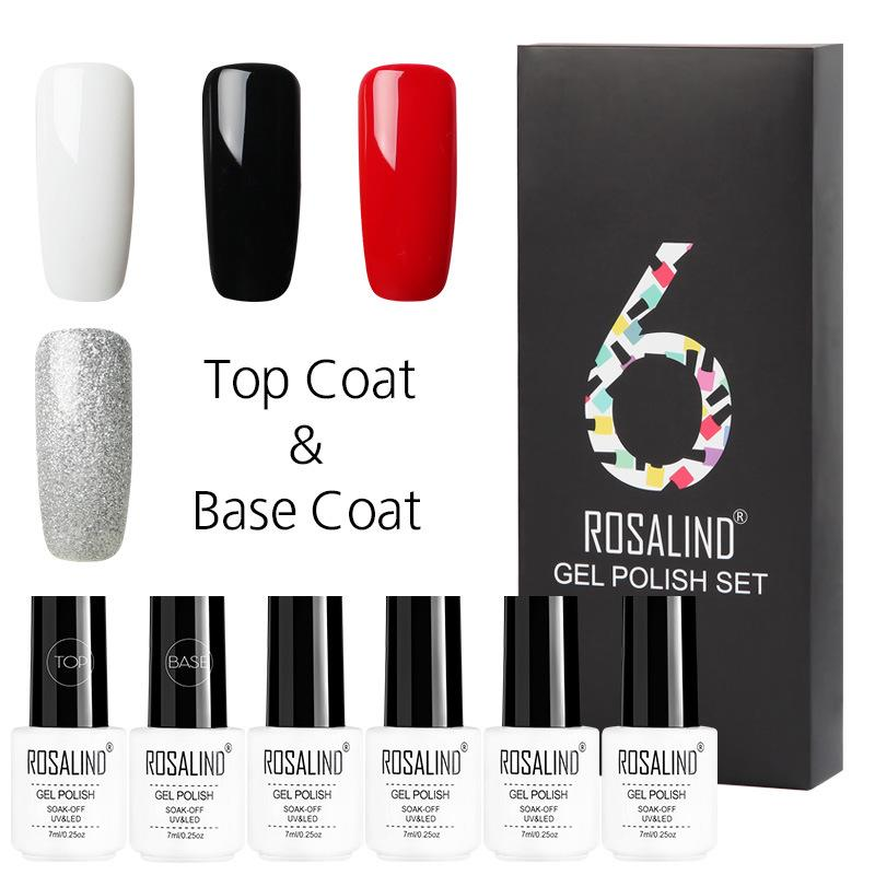 Rosalind 6 pçs lote cor sólida série