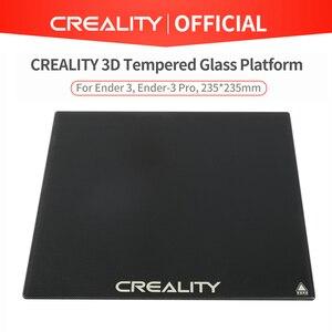 Image 2 - CREALITY 3D Tempered Glass Build Platform Size 235*235*4mm For Ender 3/Ender 3 Pro/Ender 3 V2 Printer