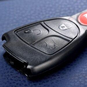 Image 4 - 4 ボタンの交換キーレスエントリーリモート車のキーシェル警報ため MERCEDES BENZ ECR CL GL SL CLK SLK