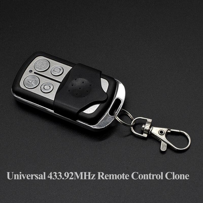 DOORHAN Transmitter 2 4 Pro Gate Control Universal 433mhz Garage Remote For BENINCA DEA Alutech AT-4 Motorline Marantec V2 433