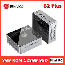 Bmax b2 plus mini pc 8gb rom 128gb ssd mini computador intel celeron j4115 ddr4 gráficos 400 quad core bluetooth 5.0 rj45 win10