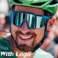 Поляризационные солнцезащитные очки Gafas MTB для спорта на открытом воздухе и велосипеда с 3 линзами