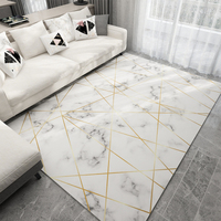 Nordic 3D Carpet 2x3M Living Room Rugs Imitation Marble Pattern Rug Coffee Table Yoga Pad Bedroom Moroccan Rectangular Bedside F