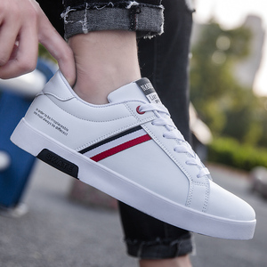 Image 3 - High Quality Brand Men Casual Shoes Hot Sale Spring Autumn New White Shoes Men Casual Breathable Fashion Casual Men Shoes Black