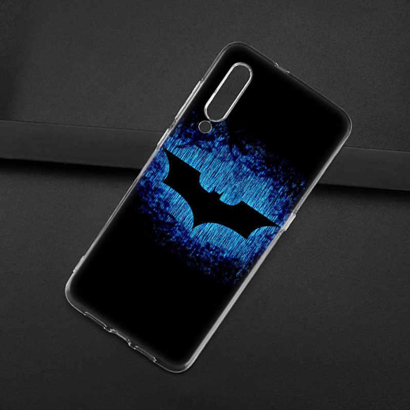 Marvel Batman logo Del Silicone di Caso Per Xiao mi mi nota 10 9T CC9 E 9 Pro A3 Lite GIOCO rosso mi nota 8T 8 8A 6 Pro 6A 4X MODO Della Copertura