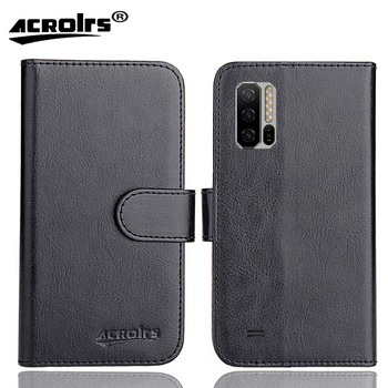 "Ulefone Armor 7E Case 6.3"" 6 Colors Flip Fashion Soft Leather Crazy Horse Exclusive Phone Cover Cases Wallet"