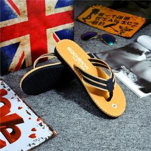 Image 3 - SHOFORT/Мужская обувь; Вьетнамки; Крутые мужские летние шлепанцы; Домашняя Нескользящая дышащая пляжная обувь; Уличные сандалии; Zapatos De Hombre