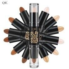 Makeup Face Concealer Stick Long-lasting 2 In 1 Highlighter
