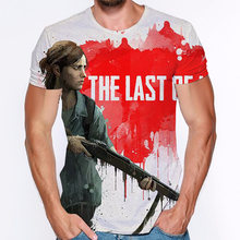 The last of us 3d print t shirt short sleeve man women 2020