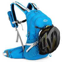 20L 人間工学防水自転車バックパック換気サイクリング登山旅行を実行しているバックパックアウトドアスポーツウォーターバッグ