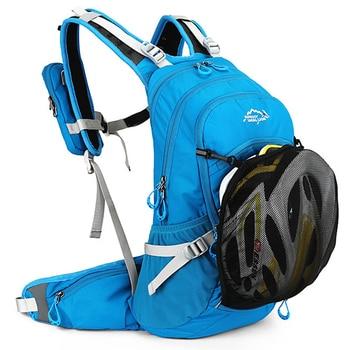 Mochila de bicicleta impermeable ergonómica de 20L, mochila portátil de viaje para escalada, ciclismo con ventilación, mochila para deportes al aire libre, bolsas de agua