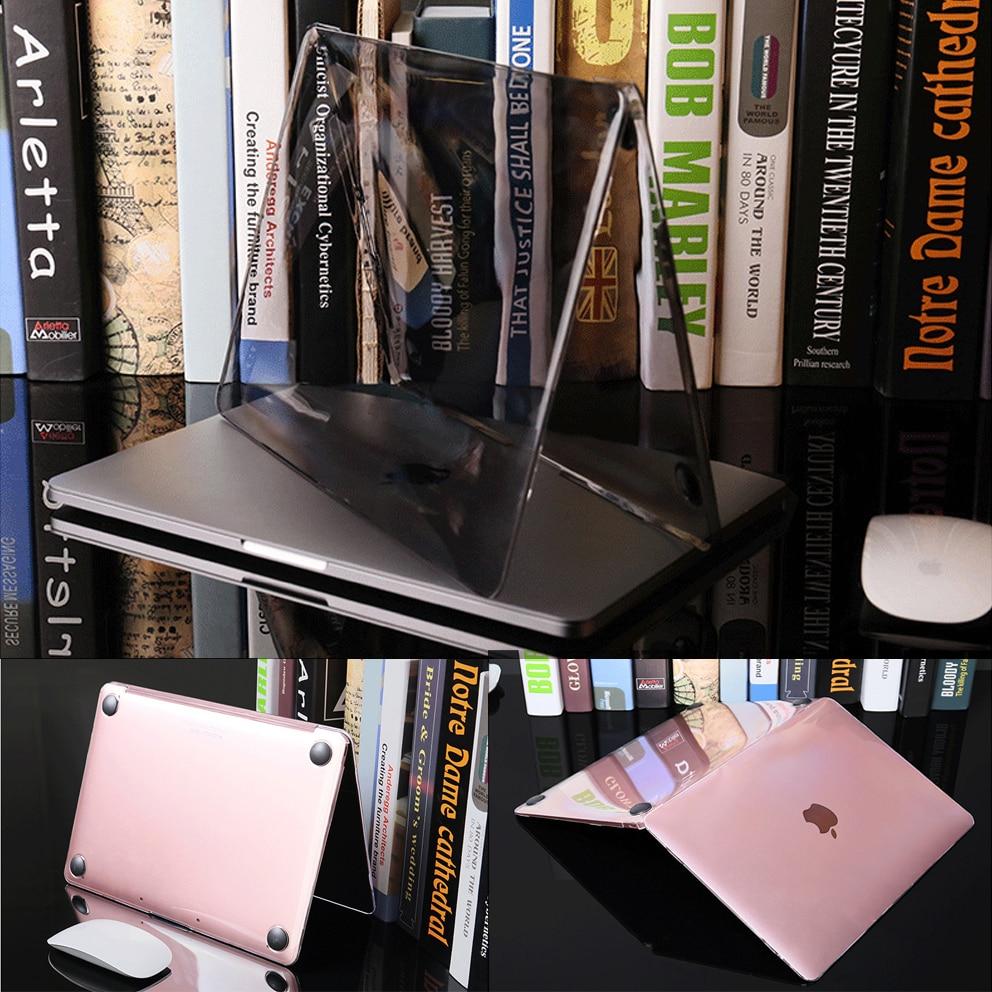 Crystal Case For Macbook Air 13 A1466 A1369 Touch ID A1932 Touch Bar Air Pro Retina 11 12 13.3 15.4 Inch A1706 1708 A1989 A2159