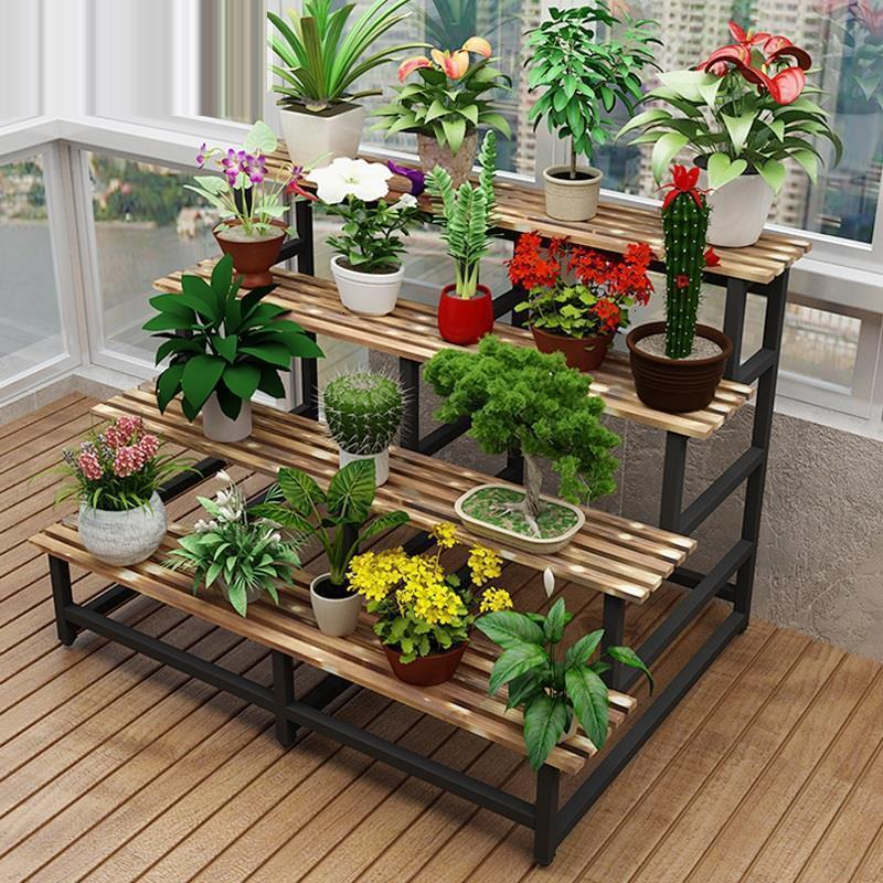 Indoor For Repisa Estante Para Plantas Pot Plantenrekken Ladder Living Room Balcony Dekoration Outdoor Flower Stand Plant Shelf