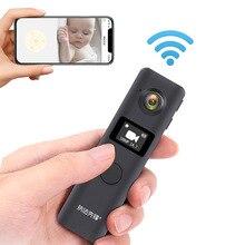 Mini Camera Body-Cam JOZUZE Small Recording Wifi Motion-Detection Wireless Worn C19