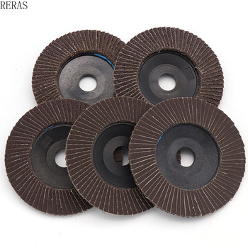 5pc Flat Abrasive Cloth Wheel 100 Louver 75 Plastic Cover Calcined Thickening 72-page Louver 4 Inch White Shark Polishing Wheel lacywear gk 4 rel page 4 page 4